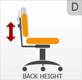 Back Height Adjustment